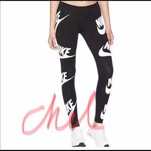 Nike Pants - Nike Leggings All over Logo